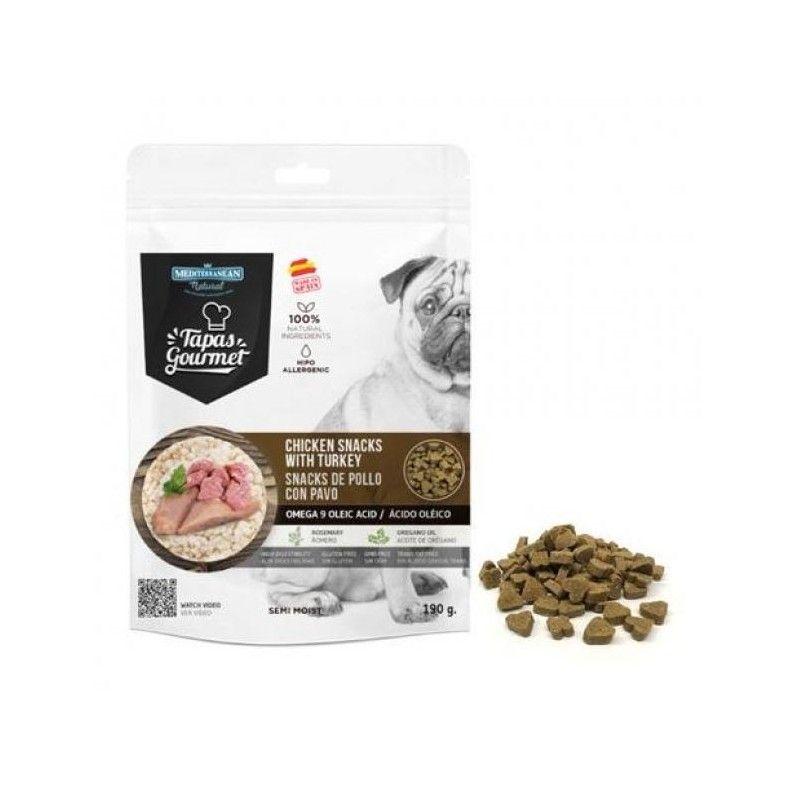 Mediterranean Natural Tapas Gourmet Pollo y Pavo 190 g