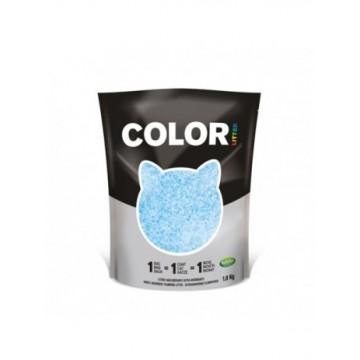Nullodor Arena Silice Gatos Color Azul 1.8Kg