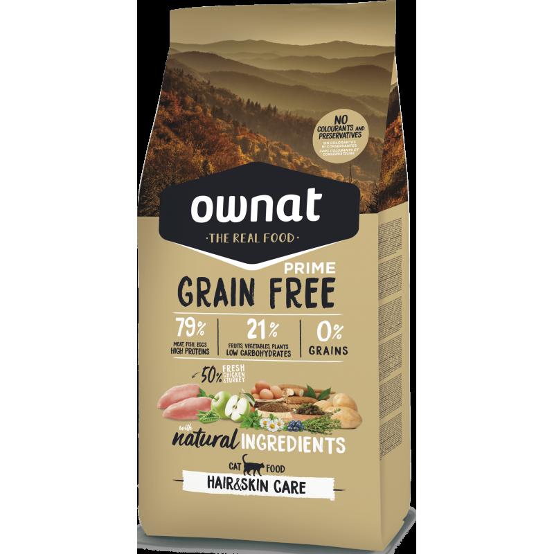 Ownat Cat Prime Grain Free Hair & Skin Care