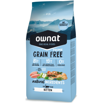 Ownat Cat Prime Grain Free Kitten 3kg