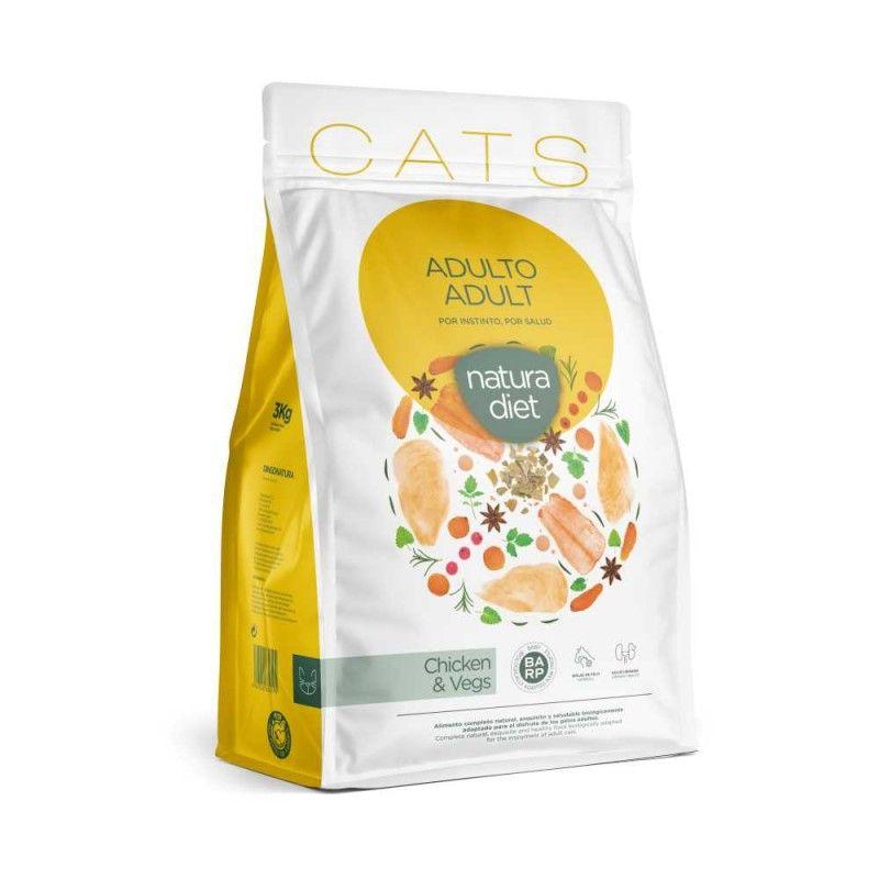 Natura Diet Cats Adult 3 kg