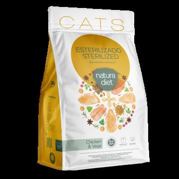 Natura Diet Cats Sterilized 3 Kg