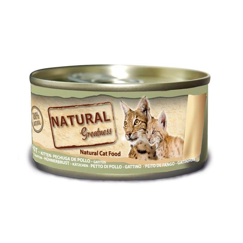 Natural Greatness Lata Pechuga de Pollo para Gatitos