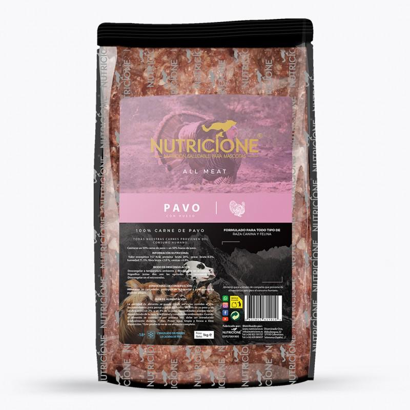 Dieta Barf Nutricione All Meat de Pavo
