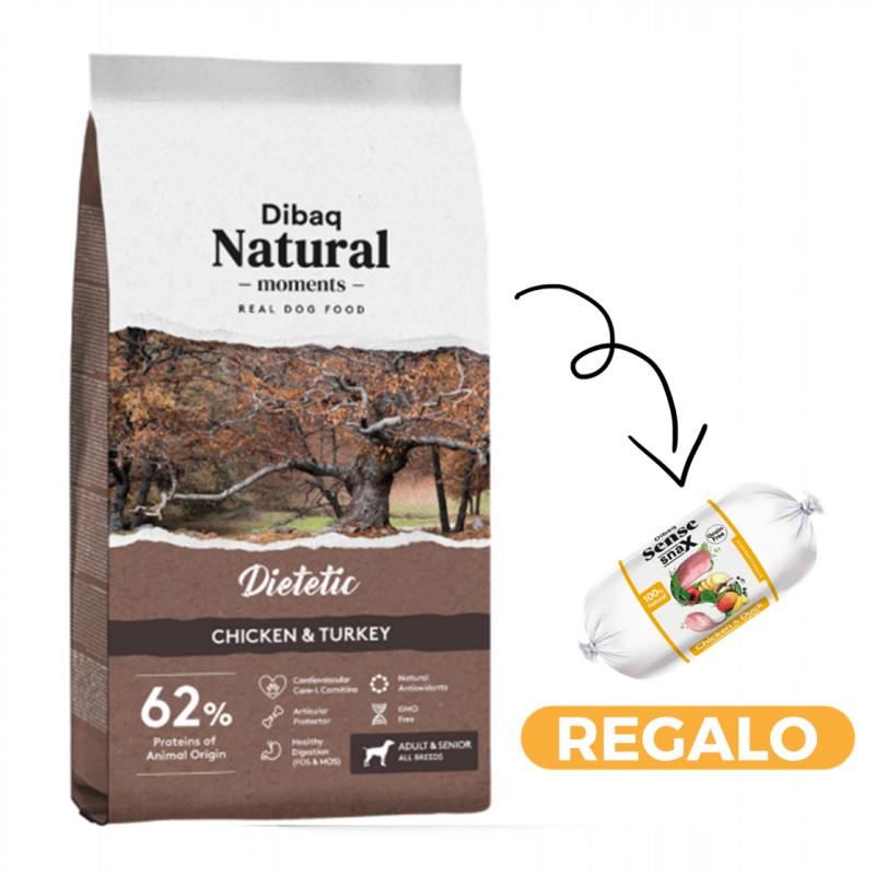 Dibaq Natural Moments Dietetic + salchicha