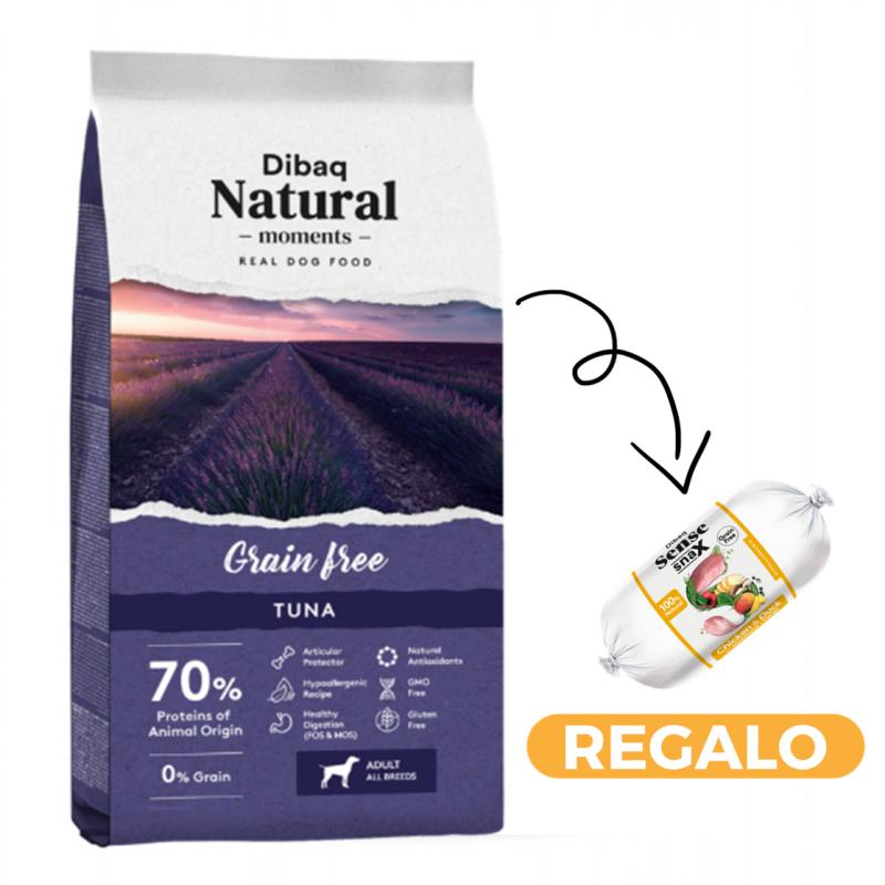 Dibaq Natural Moments Grain Free Tuna + salchicha