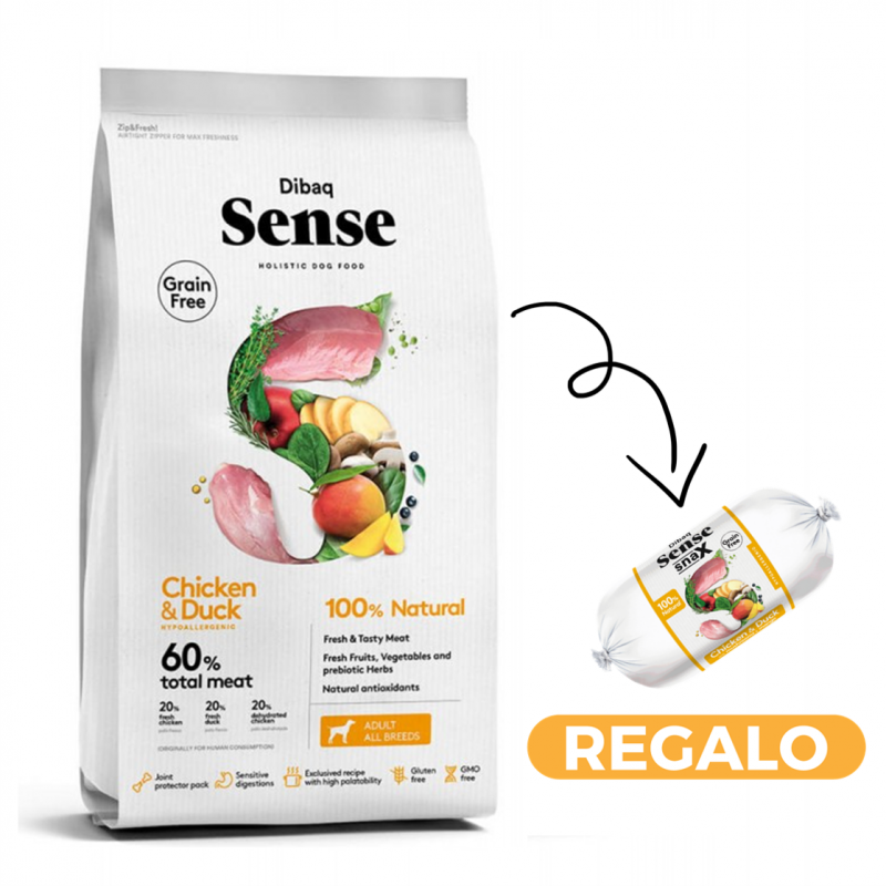 Dibaq Sense Pollo & Pato + salchicha