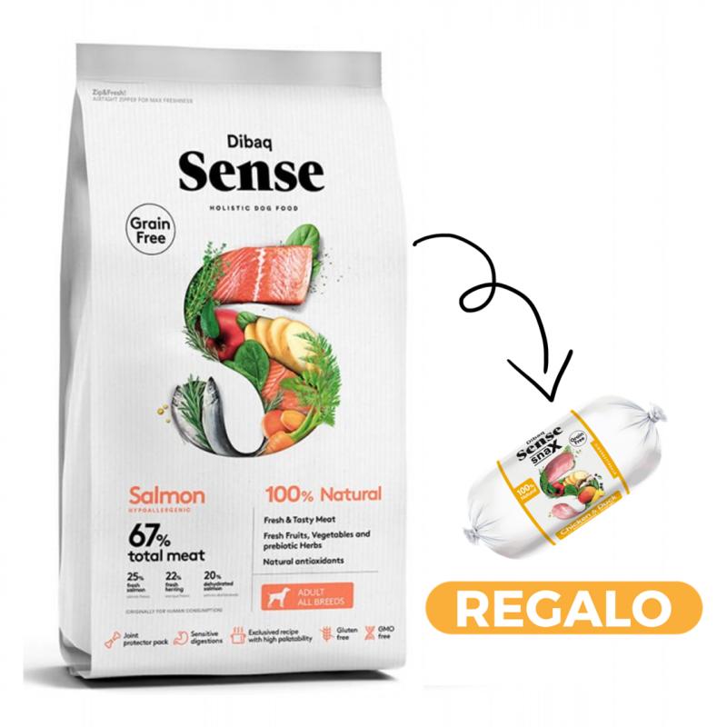 Dibaq Sense Salmon + salchicha