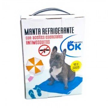 Manta Refrigerante 40x50 cm con Aceites Esenciales Antimosquitos