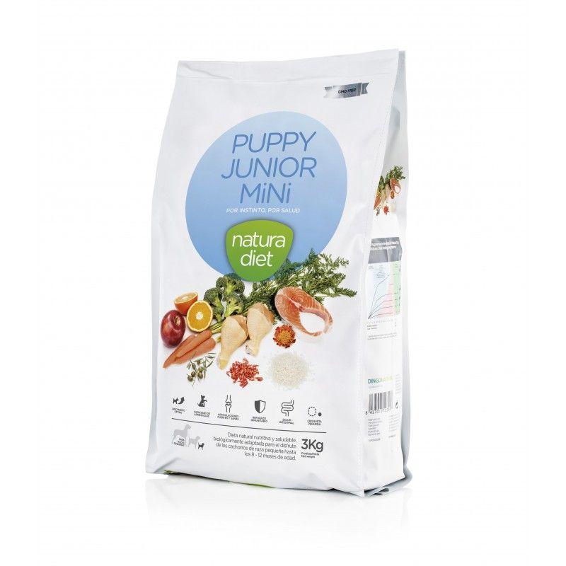 Natura Diet Puppy Junior Mini 3 kg