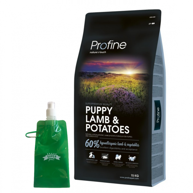 Profine Puppy Lamb + BOTELLITA PLEGABLE GRATIS