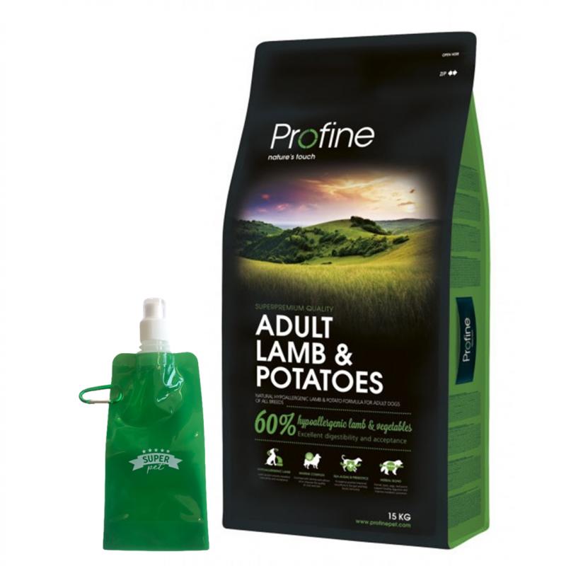 Profine Adult Lamb + BOTELLITA PLEGABLE GRATIS!