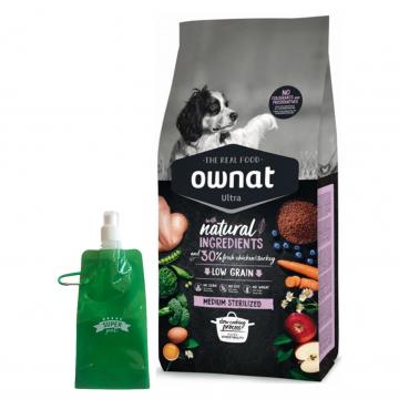 Ownat Ultra Medium Sterilized + botella plegable gratis