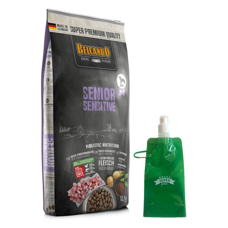 Belcando Senior Sensitive + botella plegable gratis