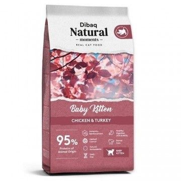 Dibaq Natural Moments Baby Kitten Pollo y Pavo 2Kg