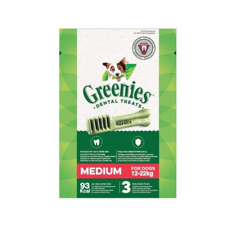 Greenies Snacks Dentales Bolsa MEDIUM  85 grs
