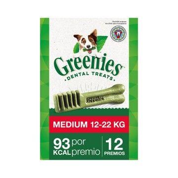 Greenies Snacks Dentales Perros Medium  Bolsas 340g