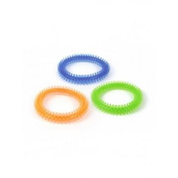 N Aro TPR con pinchos Azul/Naranja/Verde