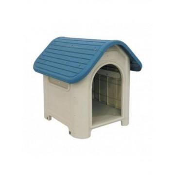 N Caseta de plastico Gris - Azul 600x750x660