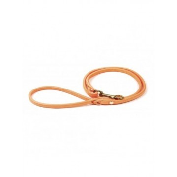 Correa cordon de cuero Naranja 0.9x120cm