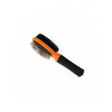 Cepillo doble Naranja 22 x 6cm