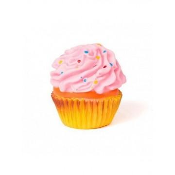 Juguete vinilo Cupcake con sonido 8x7x7cm