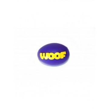 Pelota rugby woof de vinilo 9 cm