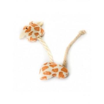 Natural juguete de gato Jirafa de cuerda 13cm