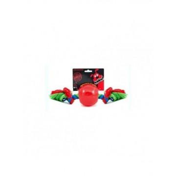 Radical Rojo Bola con Cuerda S 6cm