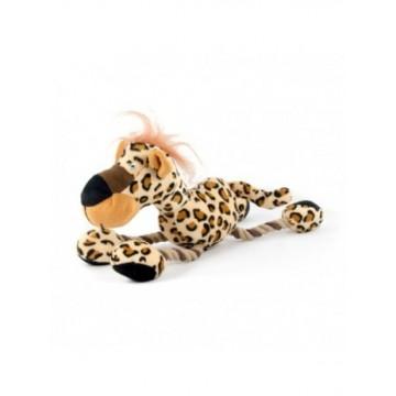 Interactive Peluche Safari con cuerda Leopardo