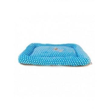 Colchón Acolchado Suave Azul 90 x 68