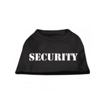 Camiseta Security negro Talla M