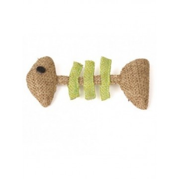Natural juguete de gato Pescado 10x5cm