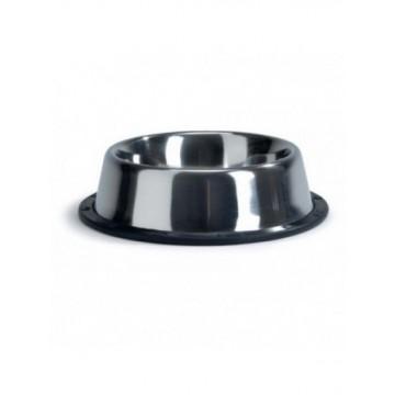 Comedero acero antideslizante Mediano 16.5 cm