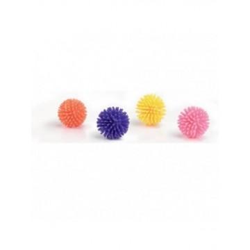 Set 4 pelotas con pinchos pequeñas para gato 3cm