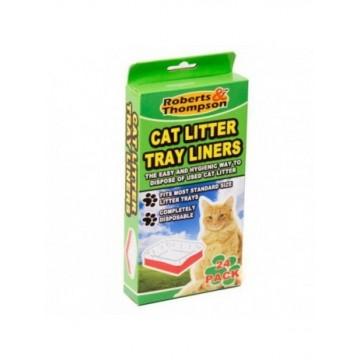 Pack 24 bolsas para bandeja gato