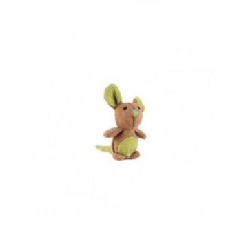 Natural juguete de gato Raton 8x5cm