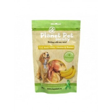 Planet Pet snack Frutas Pollo y Banana 70gr