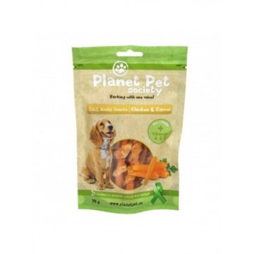Planet Pet Snack Frutas Pollo y Zanahoria 70gr