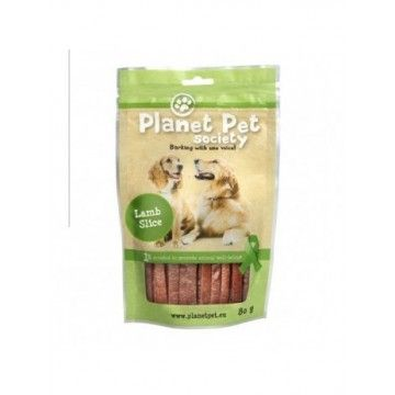 Planet Pet Snack Tiras Cordero 80gr