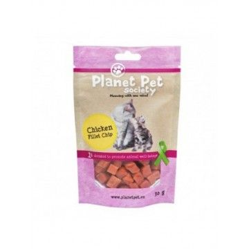 Planet Pet Gato Snack Tacos de pollo 30gr