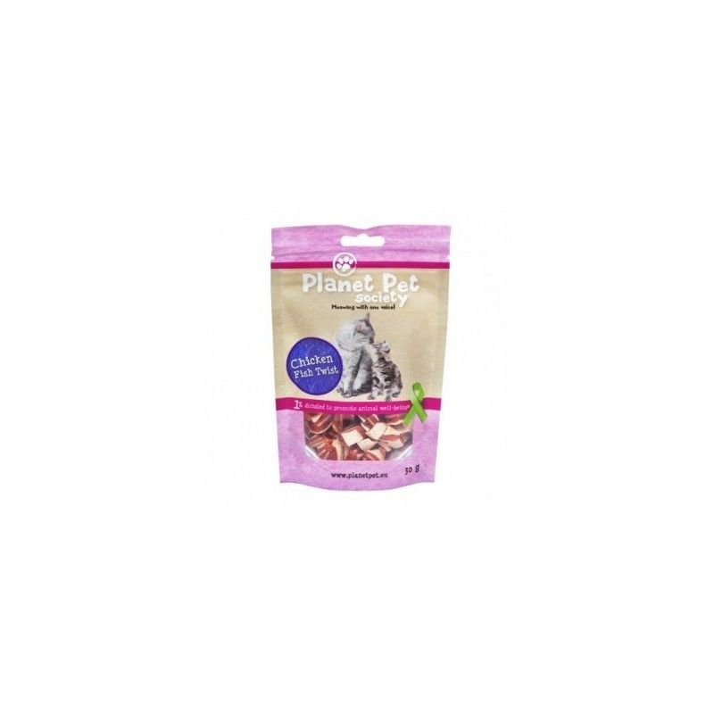 Planet Pet Gato Snack Pollo Y