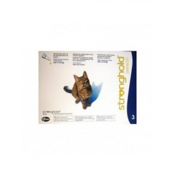 Stronghold 45 Mg OFERTA (3 Pip) Gato +2.6 Kg
