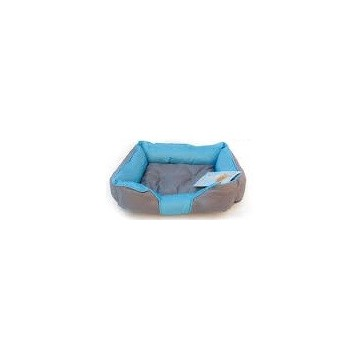 Cama Neopreno Azul y Gris S 45x35x15