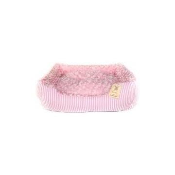 Cama pana rectangular 75x58x19cm rosa