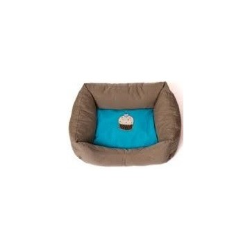 Cama polisilk Cup Cake azul Talla S