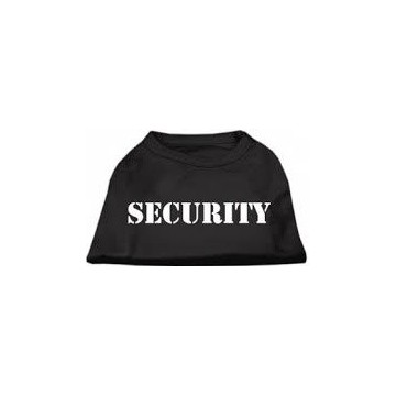 Camiseta Security negro Talla S
