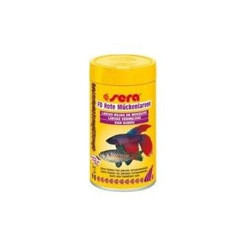 Sera FD Larvas rojas de mosquito 250 ml (20 g)