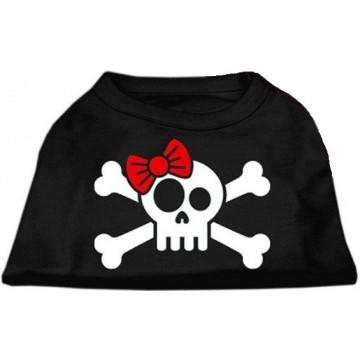 Camiseta Calavera pirata negro Talla XS