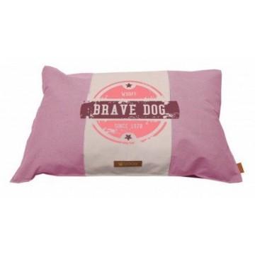 Wooff Colchon Brave Dog Soft Pink M 70x100cm